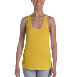 Her Everyday RacerBack (Aspen Gold) on woman's front