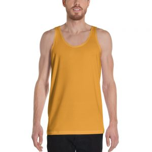 His Everyday Tank on man front (Mango Mojito)