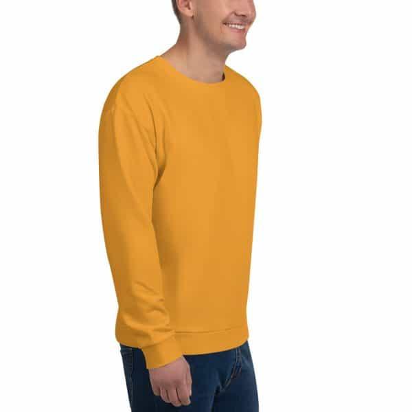 His Everyday Sweatshirt (Mango Mojito) on man front angle 2