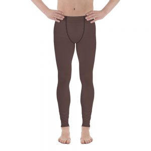 His Everyday Thermal Pants on man front (Brown Granite)