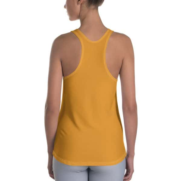 Her Everyday RacerBack (Mango Mojito) on woman's back