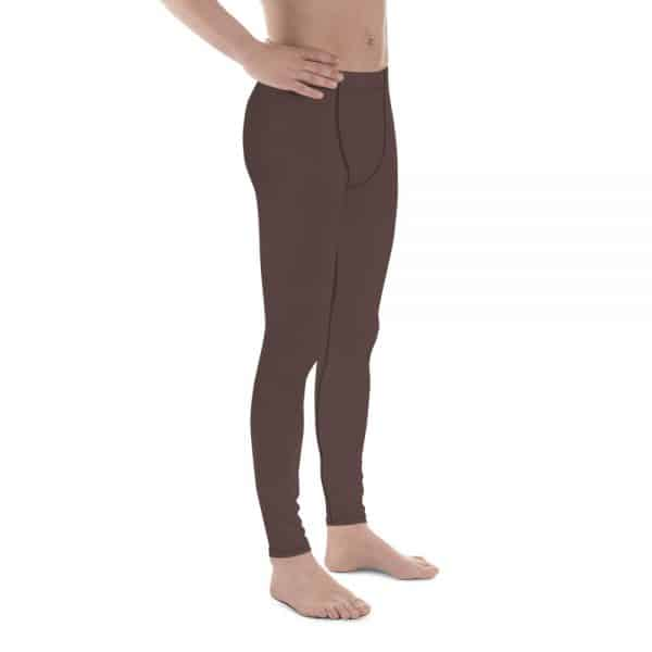 His Everyday Thermal Pants on man front angle (Brown Granite)