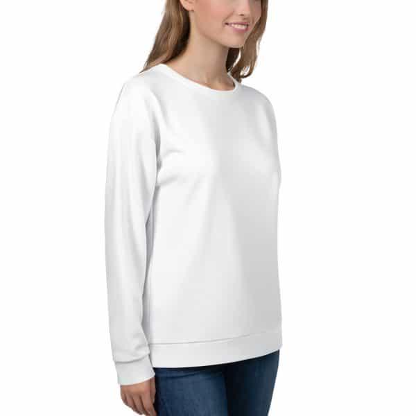 Her Everyday Sweatshirt (New Moon) on woman's front angle 1