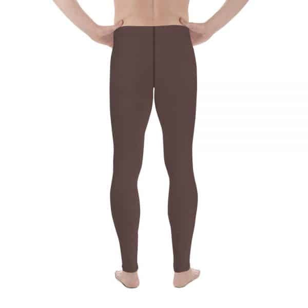 His Everyday Thermal Pants on man back (Brown Granite)