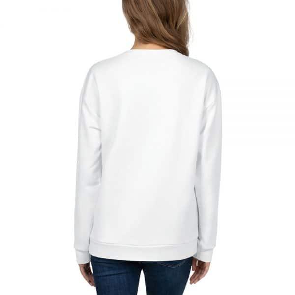 Her Everyday Sweatshirt (New Moon) on woman's back