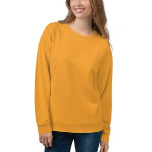 Her Everyday Sweatshirt (Mango Mojito) on woman's front