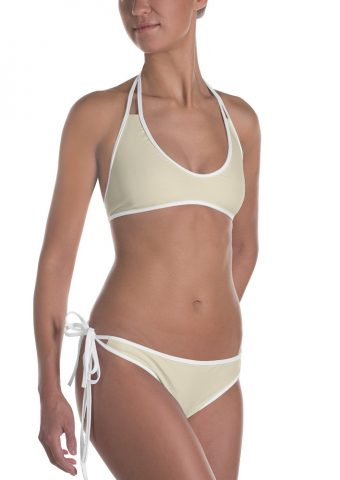 Her Everyday Bikini (Sweet Corn) on woman front angle 2