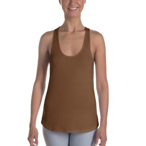 Her Everyday RacerBack (Toffee) on woman's front