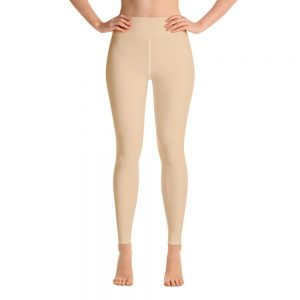 (Soybean) Her Everyday Yoga Pants on woman. Featuring high waist yoga leggings