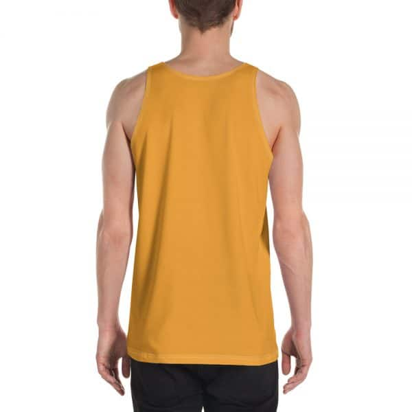 His Everyday Tank on man back (Mango Mojito)
