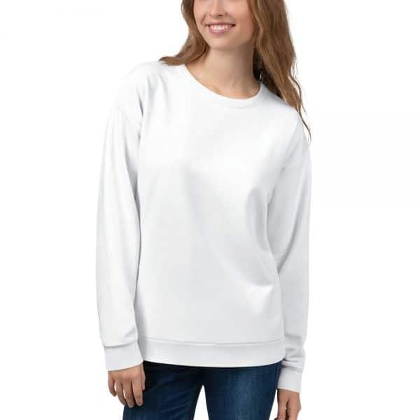 Her Everyday Sweatshirt (New Moon) on woman's front