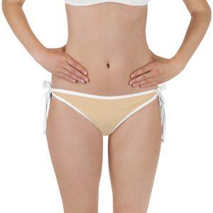 Her Everyday Bikini Bottom (Soybean) on woman front
