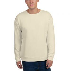 His Everyday Sweatshirt (Sweet Corn) on man's front