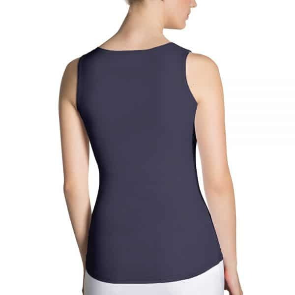 Her Everyday Tank Top (Eclipse) on woman's back