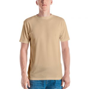 His Everyday T-shirt on man front (Soybean)