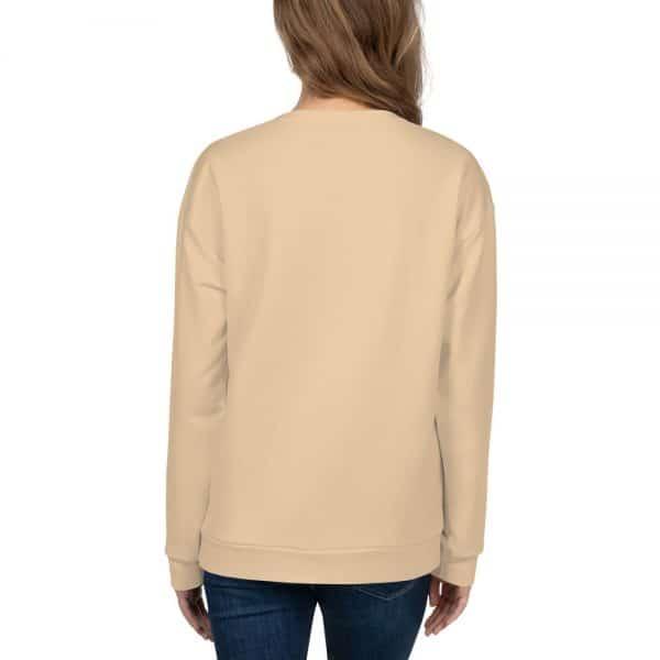 Her Everyday Sweatshirt (Soybean) on woman's back