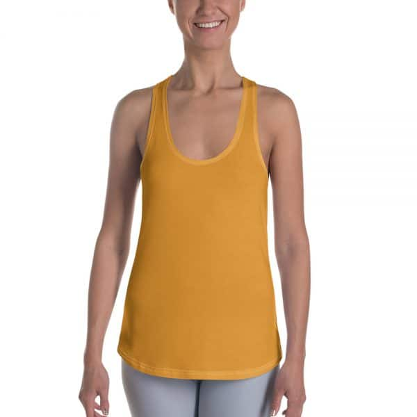 Her Everyday RacerBack (Mango Mojito) on woman's front