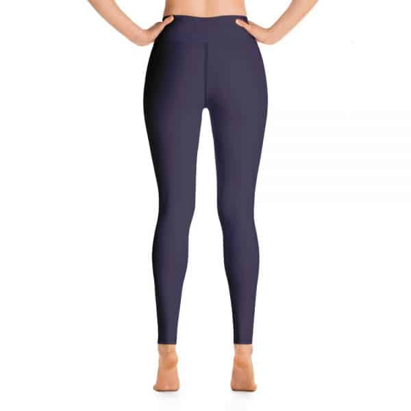 (Eclipse) Her Everyday Yoga Pants on woman. Featuring high waist yoga leggings