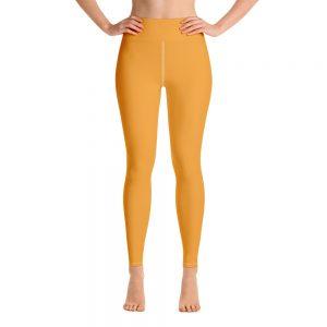 (Mango Mojito) Her Everyday Yoga Pants on woman. Featuring high waist yoga leggings