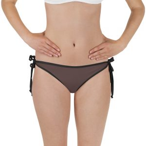 Her Everyday Bikini Bottom (Brown Granite) on woman front