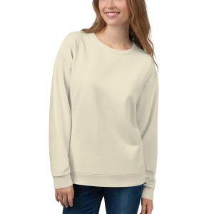 Her Everyday Sweatshirt (Sweet Corn) on woman's back