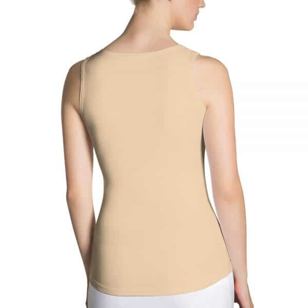Her Everyday Tank Top (Soybean) on woman's back