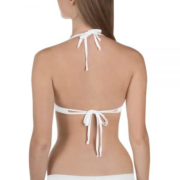 Her Everyday Bikini Top (New Moon) on woman's back