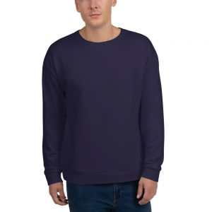 His Everyday Sweatshirt (Eclipse) on man's front