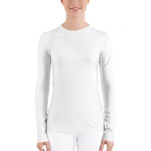 Her Everyday Rash Guard (New Moon) on woman's front