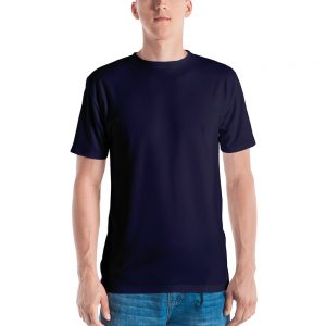 His Everyday T-shirt on man front (Eclipse)