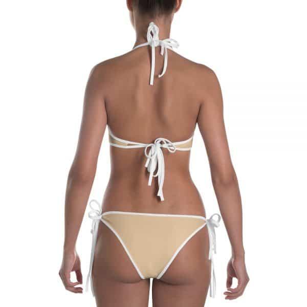 Her Everyday Bikini (Soybean) on woman back