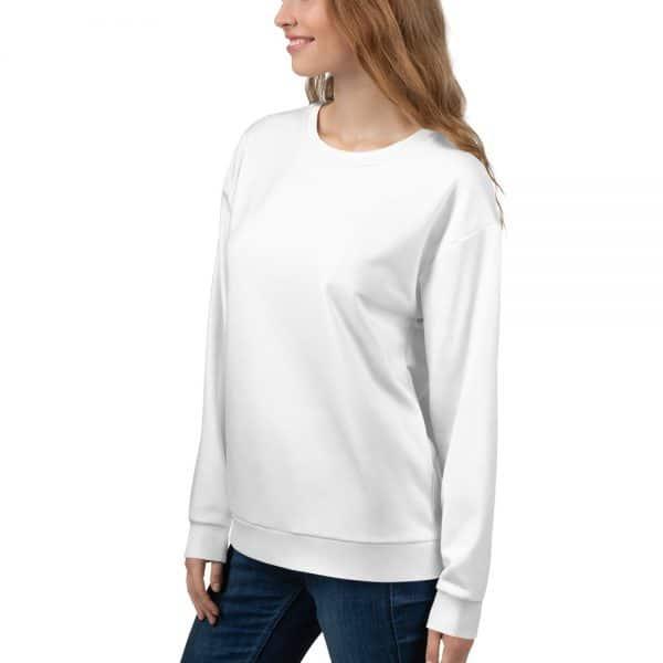 Her Everyday Sweatshirt (New Moon) on woman's front angle 2