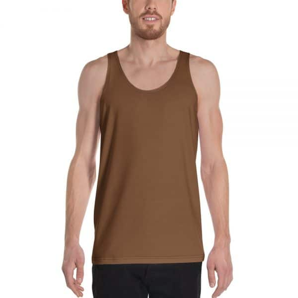His Everyday Tank on man front (Toffee)