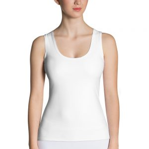 Her Everyday Tank Top (New Moon) on woman's front