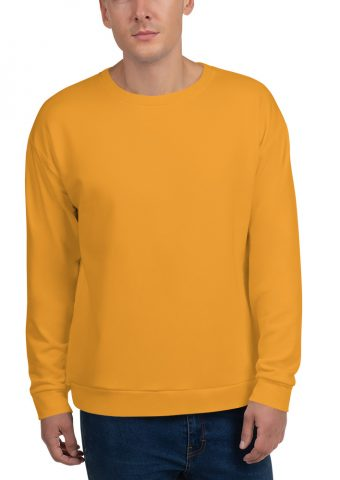 His Everyday Sweatshirt (Mango Mojito) on man's front